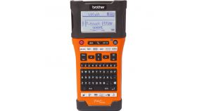 P-Touch Labeling System BROTHER PTE550W with tapes TZEFX231, TZE241, TZE251, TZE651