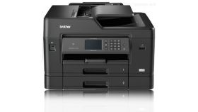 Inkjet Mulfifunctional BROTHER MFCJ3930DW, A3 Auto 2-sided print/copy/scan/fax, Printer 22/20ipm, High-yield catridge 3000mono/1500colour, Capture&Convert document with Brother Cloud Apps, Wired&Wireless