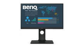 Монитор BenQ BL2480T, IPS, 23.8 inch, Wide, Full HD, D-sub, HDMI, DisplayPort, Черен