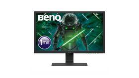 Монитор BenQ GL2480, TN, 24 inch, Wide, Full HD, 75Hz, D-sub, HDMI, DVI, Черен