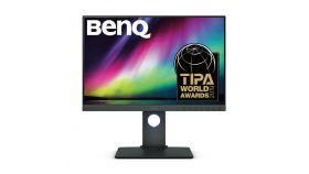 Монитор BenQ SW240, IPS, 24.1 inch, Wide, WUXGA, DVI-DL, HDMI, DP, USB Hub, Card Reader, Черен