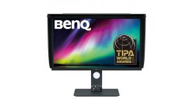 Монитор BenQ SW321C, IPS?, 32 inch, Wide, 4K, HDR10, USB-C, Display Port, HDMI, Черен