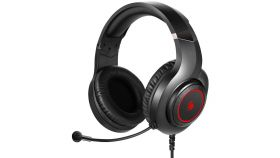 Геймърски слушалки A4TECH Bloody G220, Микрофон, Черно/Червено