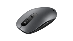 Canyon 2 in 1 Wireless optical mouse with 6 buttons, DPI 800/1000/1200/1500, 2 mode(BT/ 2.4GHz), Battery AA*1pcs, Grey, 65.4*112.25*32.3mm, 0.092kg
