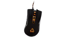 CANYON CND-SGM3 Optical gaming mouse, adjustable DPI setting  800/1600/2400/3500, LED backlight, Black