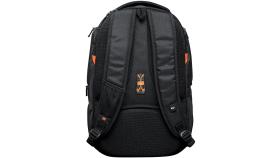 "Backpack for 15.6"" laptop, black (Material: 1680D Polyester)"
