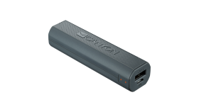 CANYON Power bank 2600mAh built-in Lithium-ion battery, output 5V1A, input 5V1A, Dark Gray