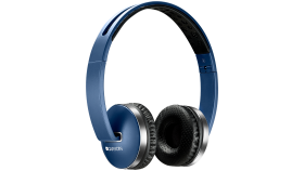 Wireless Foldable Headset, Bluetooth 4.2, Blue
