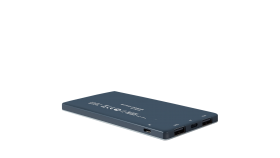 Power bank 5000mAh (Color: Dark Gray), bulit-in Lithium Polymer Battery
