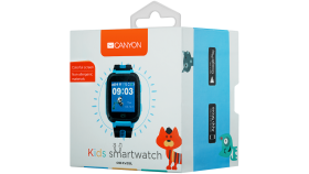 Kids smartwatch, 1.44 inch colorful screen, front camera,   SOS button, single SIM, 32+32MB, GSM(850/900/1800/1900MHz), 400mAh, compatibility with iOS and android, Blue, host: 51.6*38.5*14.5mm, strap: 180*20mm, 43g