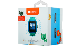 Kids smartwatch, 1.22 inch colorful screen,  SOS button, single SIM,32+32MB, GSM(850/900/1800/1900MHz), IP68 waterproof, Wifi, GPS, 420mAh, compatibility with iOS and android, Blue, host: 46*40*15MM, strap: 180*20mm, 46g