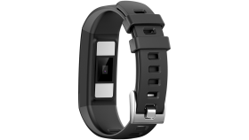 Smart Band, colorful 0.96inch TFT, ECG+PPG function,  IP67 waterproof, multi-sport mode, compatibility with iOS and android, battery 105mAh, Black, host: 55*19.5*12mm, strap: 18wide*240mm, 24g