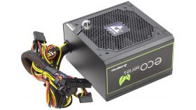 CHIEFTEC ECO Series 500W ATX-12V V.2.3 PSU type with 12cm fan Active PFC 230V only 85% Efficiency including power cord