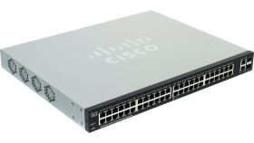 CISCO SF220-48-K9-EU Cisco SF220-48 48-Port 10/100 Smart Plus Switch