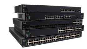 CISCO SG350X-24 24-port Gigabit Stackable Switch