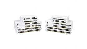 CISCO CBS250 Smart 8-port GE Partial PoE Ext PS 2x1G Combo