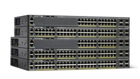 Catalyst 2960-X 48 GigE PoE 740W, 4 x 1G SFP, LAN Base