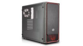 Кутия Cooler Master MasterBox E500L RED LED fan
