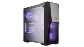 Кутия Cooler Master MasterBox MB500 RGB, Mid-Tower, Черен
