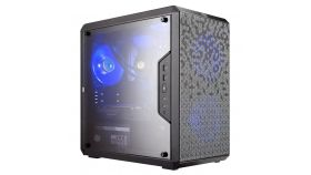 Кутия Cooler Master MasterBox Q300L Magnetic Dustfilter, Mini-Tower, Черен