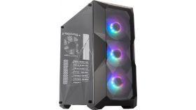 Кутия Cooler Master MasterBox TD500, Black, ARGB