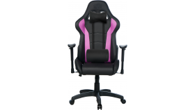 Cooler Master Caliber R1 Gaming Chair Purple and Black, геймърски стол