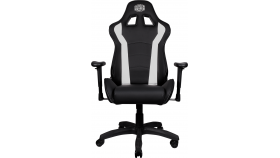 Cooler Master Caliber R1 Gaming Chair White and Black, геймърски стол