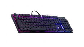 Геймърска механична клавиатура Cooler Master SK650 Cherry MX RGB Low Profile