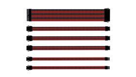 Комплект оплетени кабели Cooler Master Red & Black