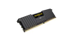 CORSAIR 8GB DDR4 3000MHz 288Dimm Unbuffed 16-20-20-38 Vengeance LPX Black Heat Spreader 1.35V XMP2.0