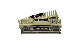CORSAIR DDR3 1600MHz 16GB Kit 2x8GB 240 Dimm Unbuffered 9-9-9-24 Vengeance Heatspreader Dual Channel 1.5V