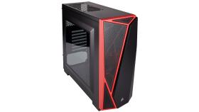 Кутия за компютър CORSAIR Carbide Series™ SPEC-04 Mid-Tower Gaming Case Black/Red