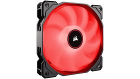 Corsair AF140 LED Low Noise Cooling Fan, Single Pack - Red
