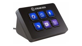 Стрийминг контролер Elgato Stream Deck Mini Live Content Creation Controller (6 цветни LCD бутона, USB)