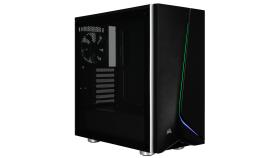 Компютърна кутия Corsair Carbide SPEC-06 RGB (Mid-Tower, Black)