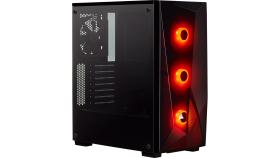 Компютърна кутия Corsair Carbide Series SPEC-DELTA RGB (Mid Tower, Black)