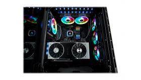 CORSAIR computer case Crystal Series 680X RGB Low Noise ATX TG Black