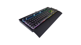 Геймърска клавиатура Corsair K68 RGB Mechanical (устойчива на заливане, RGB Backlit, Cherry MX Red, US layout) Black