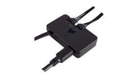 Смарт устройство Corsair Lighting Node PRO Controller (all-in-one устройство, което осигурява ефекти и ярко осветяване на вашия компютър използвайки обикновен USB 2.0 порт)
