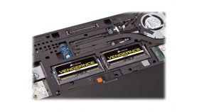 CORSAIR 16GB RAMKit 2x8GB DDR4 2400MHz 2x260 SODIMM unbuffered 16-16-16-39 Black PCB 1.2V