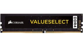 Памет Corsair DDR4, 2666MHZ 4GB (1 x 4GB) 288 DIMM 1.20V, Unbuffered, 18-18-18-43, Intel new Gen and AMD Ryzen motherboards