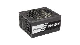 Захранване Corsair Enthusiast RMi Series RM650i Power Supply, Fully Modular 80 Plus Gold 650 Watt, EU Version (10 years warranty)