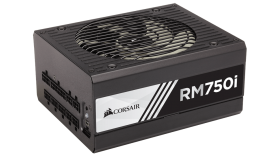 Захранване Corsair Enthusiast RMi Series RM750i Power Supply, Fully Modular 80 Plus Gold 750 Watt, EU Version (10 years warranty)