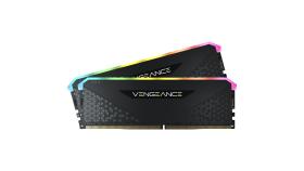 Corsair DDR4, 3600MHz 16GB 2x8GB DIMM, Unbuffered, 18-22-22-42, XMP 2.0, VENGEANCE RGB RS Heatspreader, RGB LED, 1.35V, for AMD Ryzen & Intel XMP