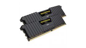 Corsair DDR4, 3200MHz 64GB 2x32GB DIMM, Unbuffered, 16-20-20-38, XMP 2.0, Vengeance LPX black Heatspreader, Black PCB, 1.35V