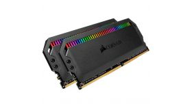 CORSAIR DOMINATOR PLATINUM RGB 16GB (2x8GB) DDR4 DRAM 3200MHz C16 AMD Ryzen Memory Kit