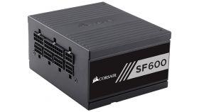 Захранване Corsair High Performance SFX SF600, Modular Power Supply, Fully Modular 80 Plus Gold, EU Version