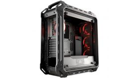 "Chassis COUGAR PANZER EVO Full-Tower, Mini ITX/MicroATX/ATX/ CEB/L-ATX/E-ATX (E-ATX up to 12""x11"" ), Max. Graphics Card Length-390mm/15.35 (Inch),Max. CPU Cooler Height-170mm/ 6.69 (Inch), CM, Water Cooling Support,USB3.0x2/USB2.0x2 Micx1/Audiox1"