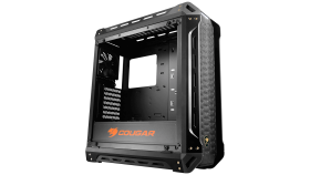 Chassis COUGAR PANZER-S, Mid-Tower, Mini ITX/Micro ATX/ ATX/CEB, Dimension (WxHxD)-208x565x520 (mm), Water cooling support, Max. Graphic Cards Length-425 (mm) (400mm with frontal fans), Max. CPU Cooler Height-160 (mm), CM