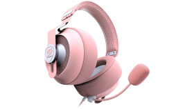 COUGAR Phontum S Pink, Gaming Stereo Headset with Dual Chamber System, 53mm drivers with graphene diaphragms, Premium 9.7mm cardioid microphone, Headband
